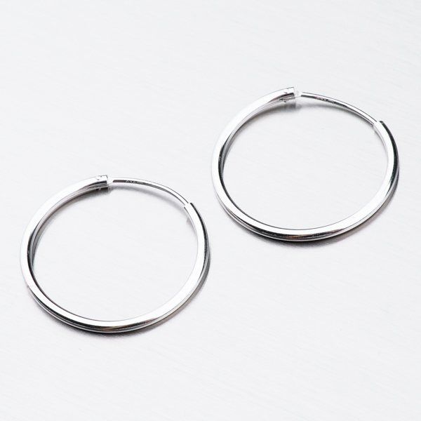 Stříbrné kruhy UCST-12351/16