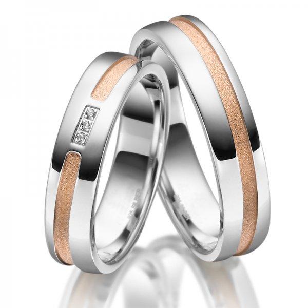 Stříbrné snubní prsteny SP-SI-022