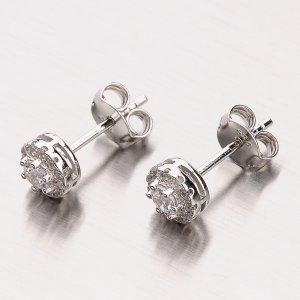Stříbrné náušnice EXX07160510