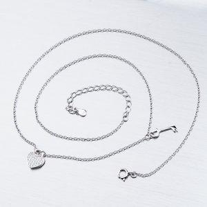 Stříbrný náhrdelník SST-15881