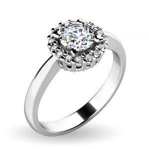 Dámský prsten s brilianty 10924-B-DIA