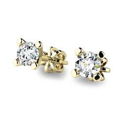 Diamantové náušnice pecky 10832-ZL