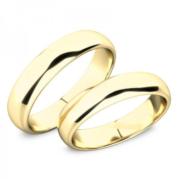 Snubní prsteny zlaté bez kamenů SP-61100-03-Z
