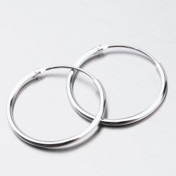 Stříbrné kruhy UCST-12140820