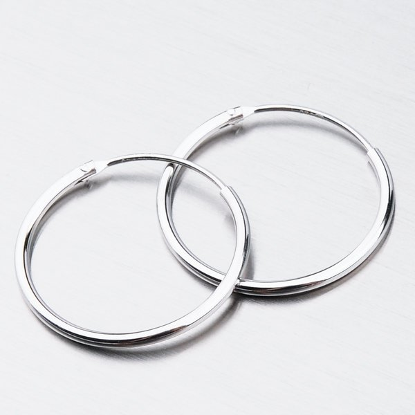 Stříbrné kruhy UCST-121408/20