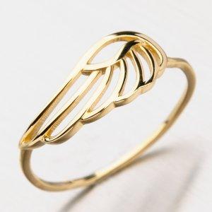 Prsten ze žlutého zlata 41-NP194