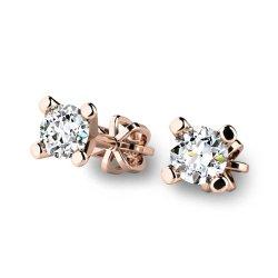 Diamantové náušnice pecky 10832-CV