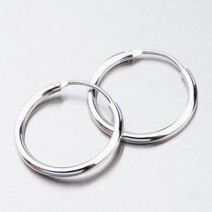 Stříbrné kruhy UCST-121409/20