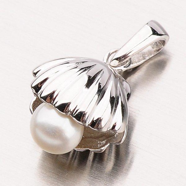 Stříbrný přívěsek s perlou PXX01180175