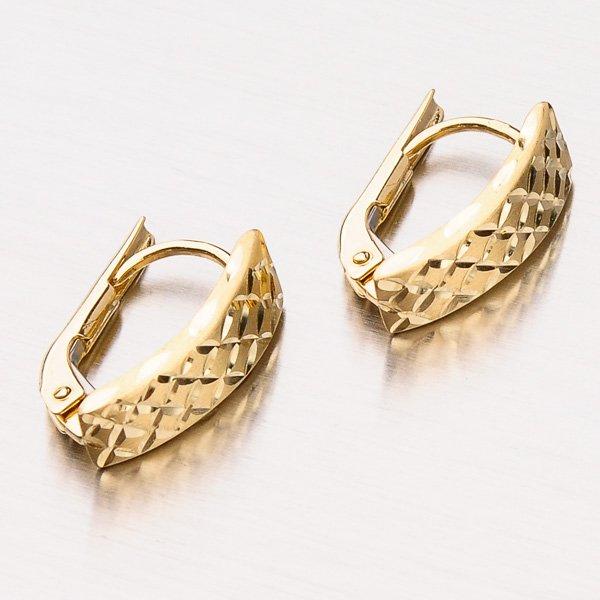 Dámské náušnice ze zlata 12-424