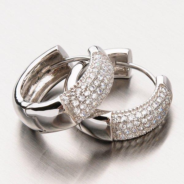 Masivní stříbrné kruhy EXX07140049