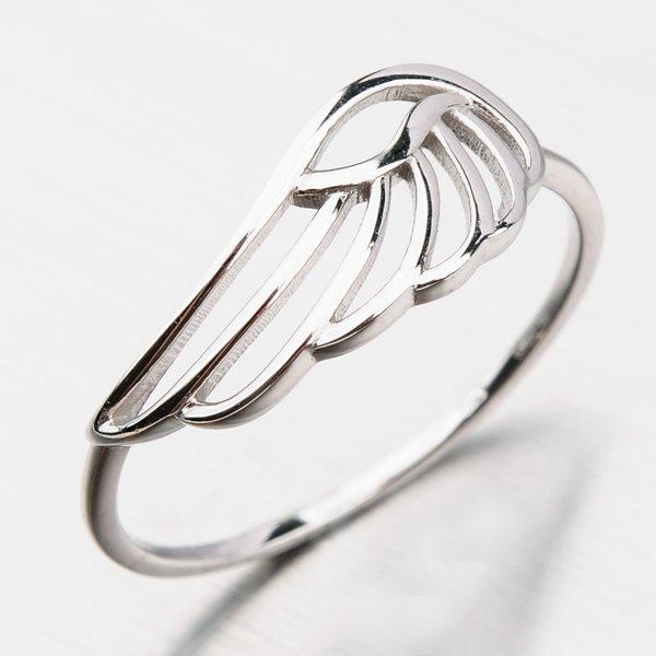 Prsten z bílého zlata 41-NP194B