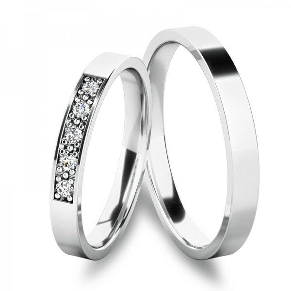 Snubní prsteny ze zlata SP-61086B