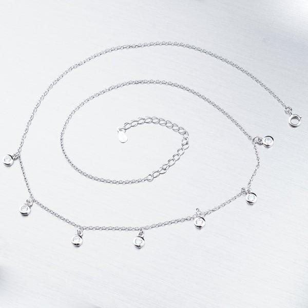 Náhrdelník se zirkony SST-15699
