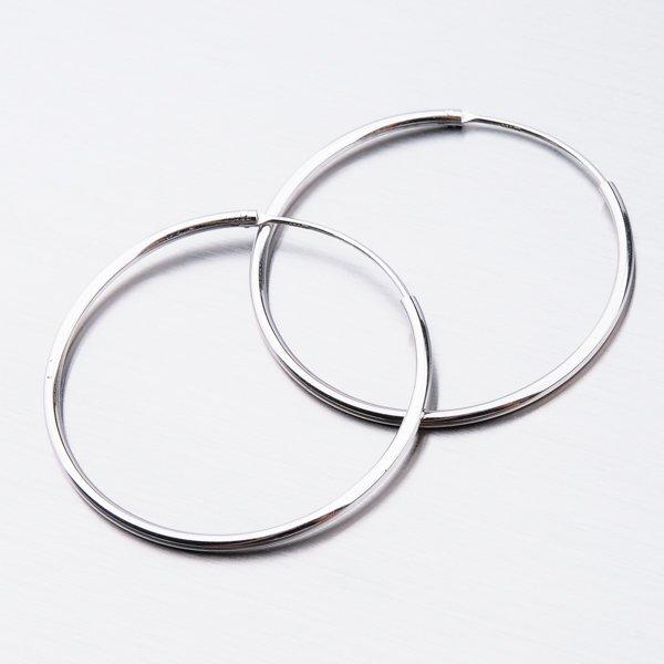 Stříbrné kruhy UCST-12351/35