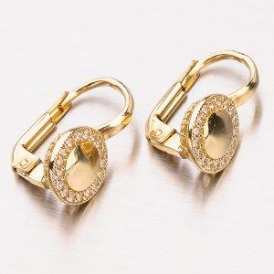 Zlaté náušnice 12-410