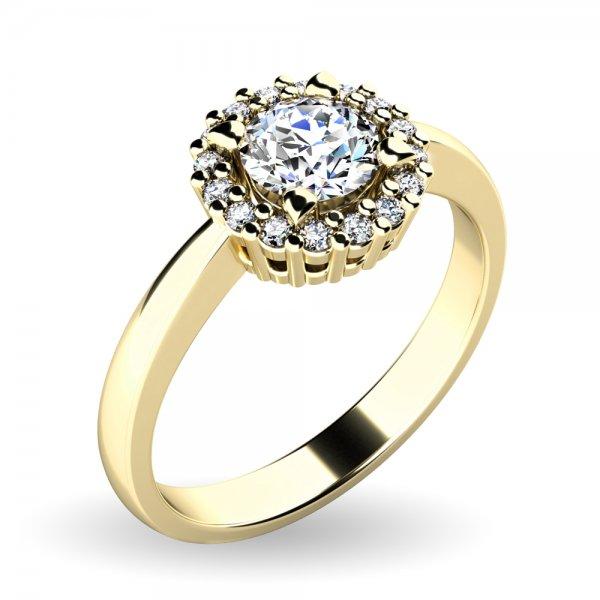 Dámský prsten s brilianty 10924-ZL