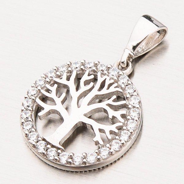 Zlatý přívěsek strom života 13-242