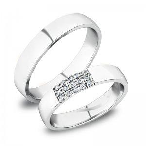 Zlaté snubní prsteny SP-61088B