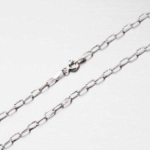 Stříbrný řetízek CHRS-DROP-OVALSTAR-040