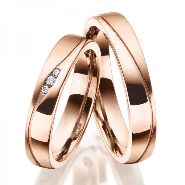 Titanové snubní prsteny SP-TI-036
