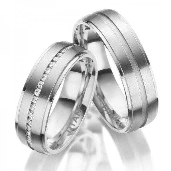 Titanové snubní prsteny SP-TI-033