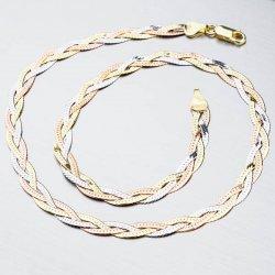 Stříbrný náhrdelník CHRS-02-040-3B3CRH