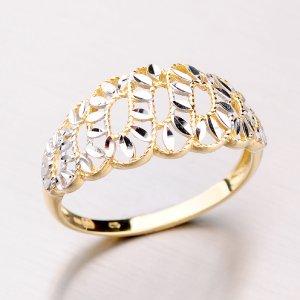 Prsten ze žlutého zlata 41-NP164