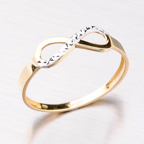 Prsten ze žlutého zlata 11-283