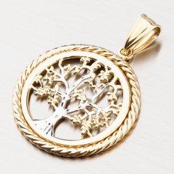 Zlatý přívěsek - strom života 43-21825