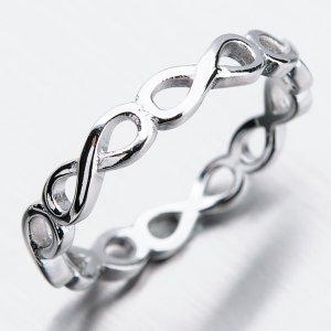 Stříbrný prsten GST-11241
