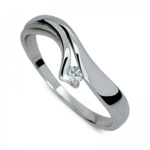 Dámský prsten s diamantem DF1853