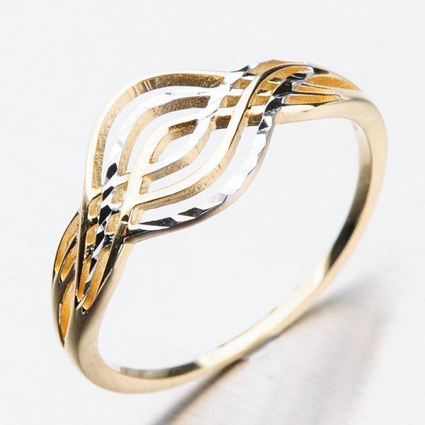 Prsten ze žlutého zlata PKL 11-017