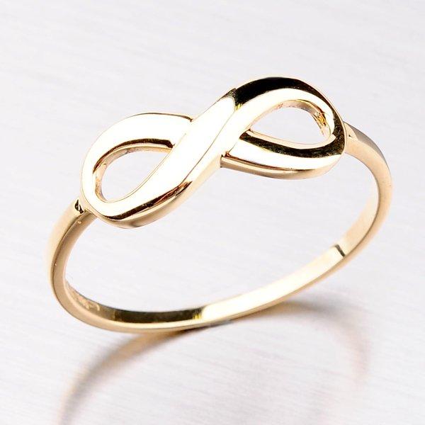 Prsten ze žlutého zlata 11-281