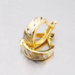 Zlaté visací náušnice 42-31014