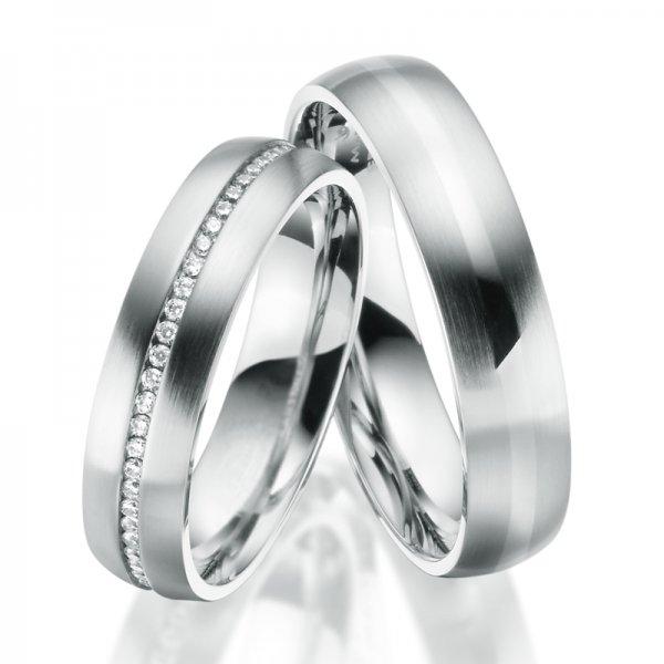 Ocelové snubní prsteny SP-ES-025