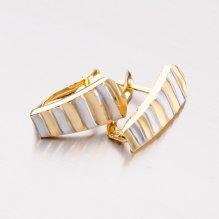 Zlaté visací náušnice 42-31033