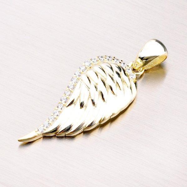 Stříbrný přívěsek - andělské křídlo PKL-3007