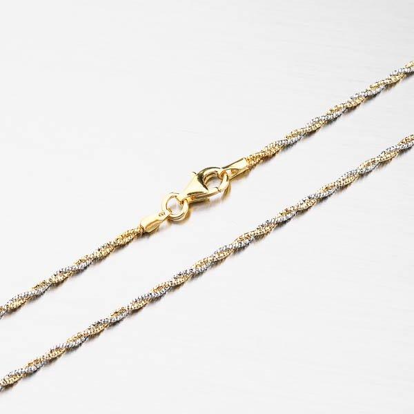 Stříbrný náhrdelník CHRS-13RDIS162F-020-AWY-RH