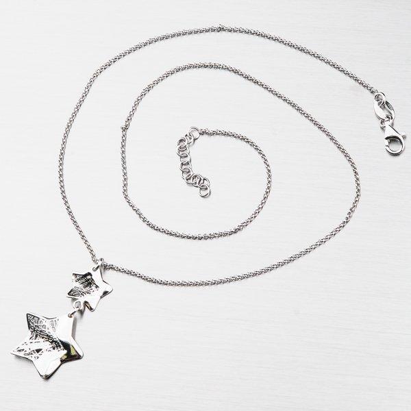 Stříbrný náhrdelník 92003043-57SLX