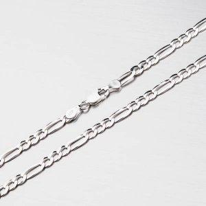 Stříbrný řetízek figaro CHRS-073-120-FLAT