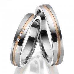 Titanové snubní prsteny SP-TI-045