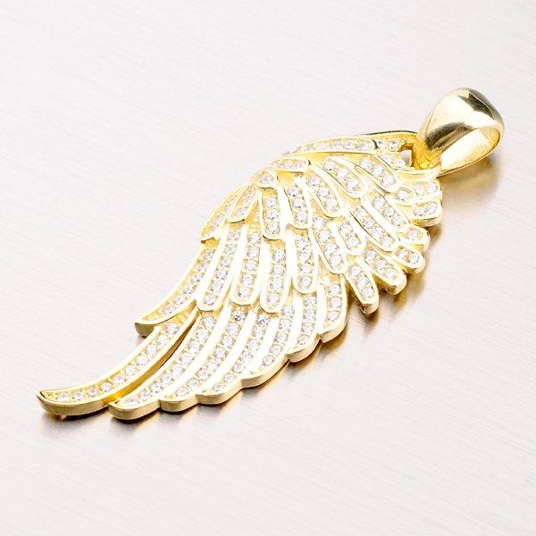 Stříbrný přívěsek - andělské křídlo PKL-3051
