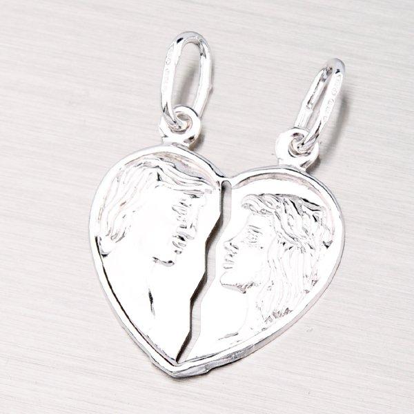 Stříbrný přívěsek pro zamilovaný pár M5500FRH