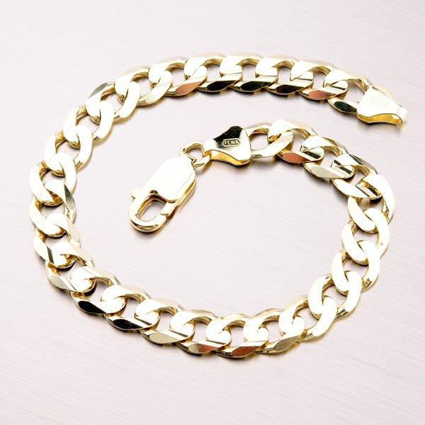 Zlatý masivní náramek Pancer 44-1183