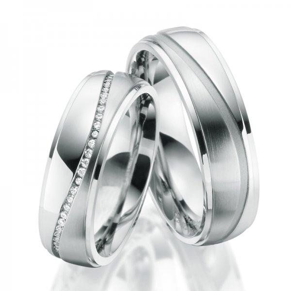 Ocelové snubní prsteny SP-ES-026