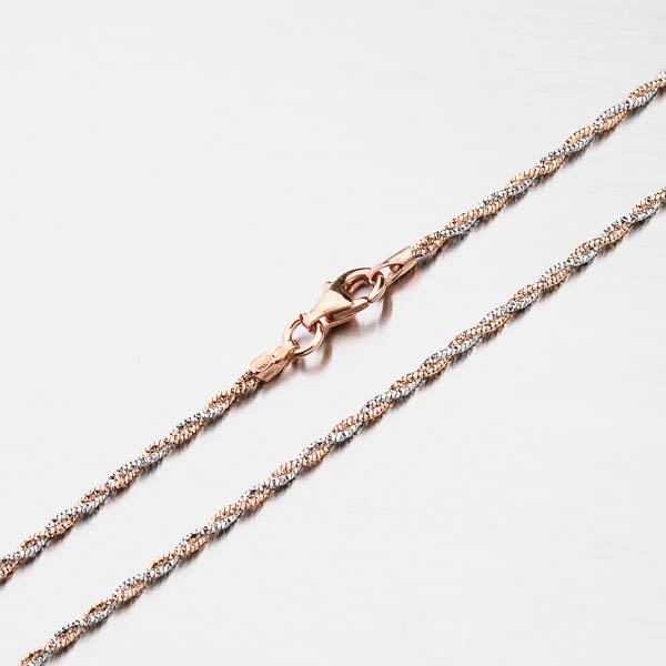 Stříbrný náhrdelník CHRS-13RDIS162F-020-AWP-RH