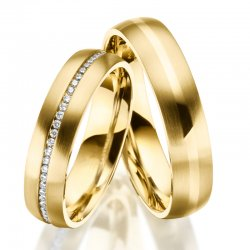 Ocelové snubní prsteny SP-ES-027