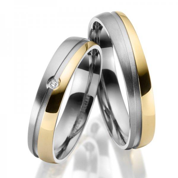Titanové snubní prsteny SP-TI-047