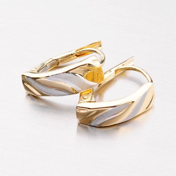 Zlaté náušnice 12-561